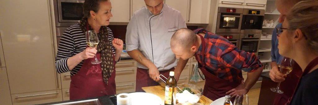 Orientalischer Kochevent als Firmenveranstaltung
